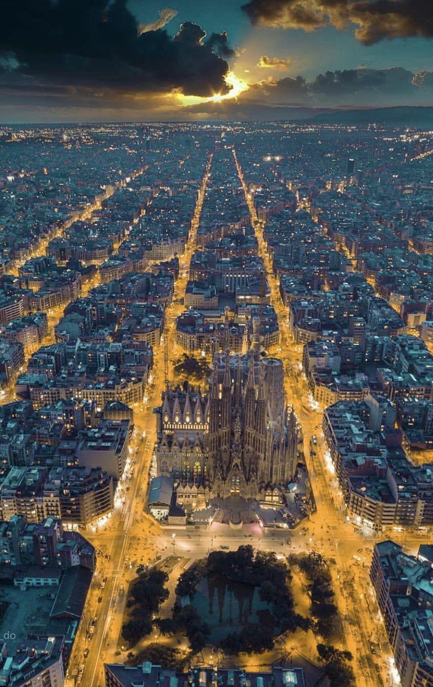 Barcelona Barcelona In 2019 Aerial View Barcelona Travel City