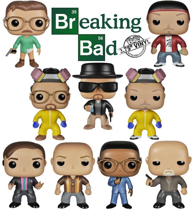 "WALTER WHITE BREAKING BAD 5/"" action  FIGURE TV"