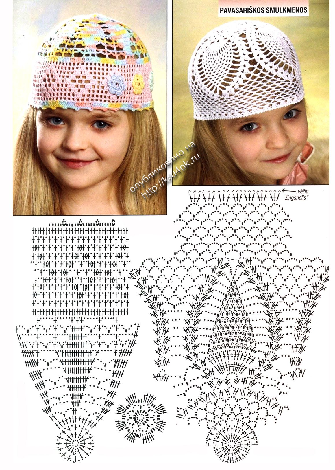 Схема вязания шапочки: | Детям | Pinterest | Gorros de bebe, Gorro ...