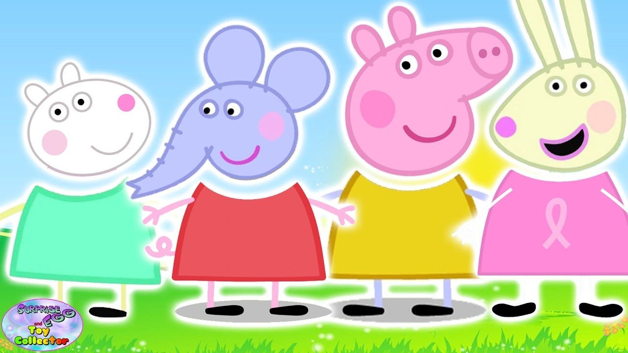 Wrong Heads Peppa Pig Suzy Sheep Emily Rabecca Finger