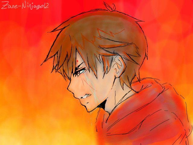 Crying Kai by Zane-Ninjago12.deviantart.com on @DeviantArt ...