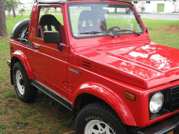 1986 Suzuki Samurai 4x4 Jeep For Sale Show Winner Suzuki