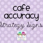 CAFE Accuracy strategy signs that can be used with my Simple CAFE Headers.Two strategies will print per page. ...