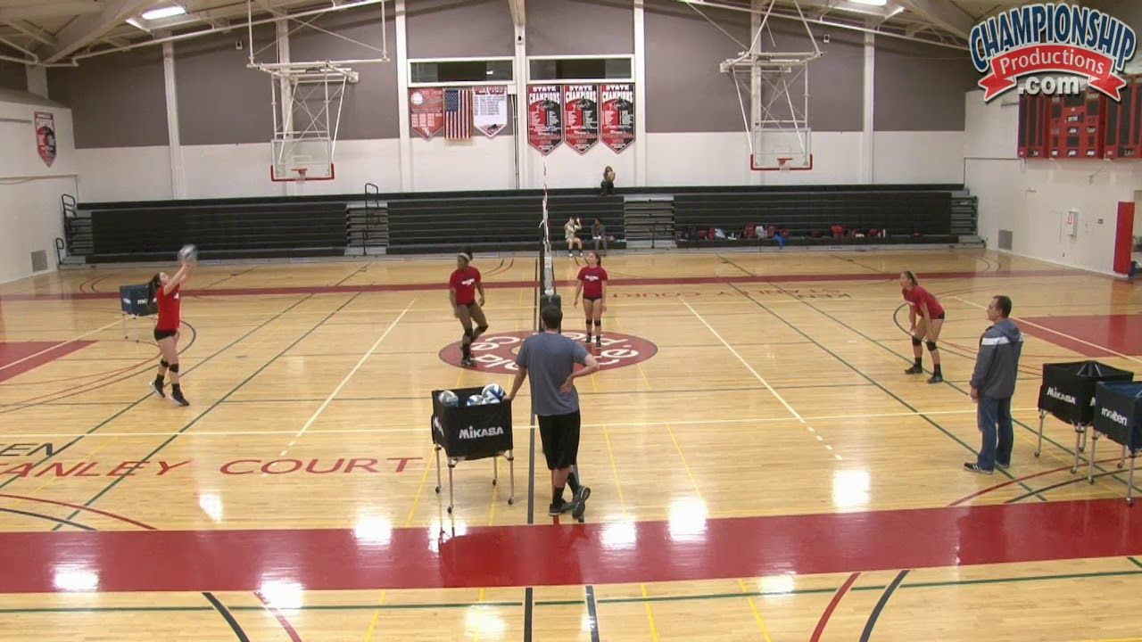 Drill To Create Better Volleyball Passers Volleyball Drills Volleyball Skills Coaching Volleyball