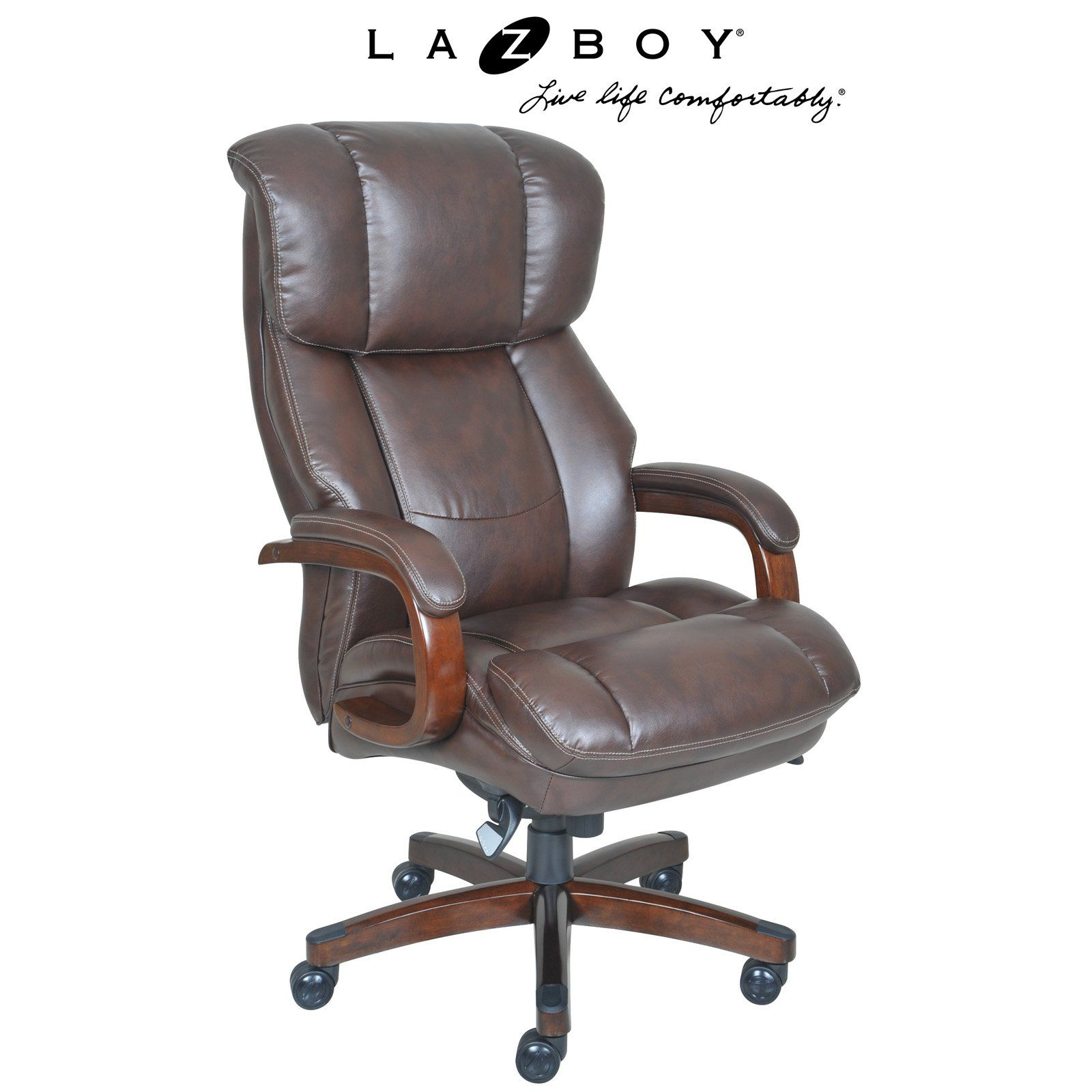 Fine La Z Boy Fairmont Big And Tall Executive Office Chair Machost Co Dining Chair Design Ideas Machostcouk