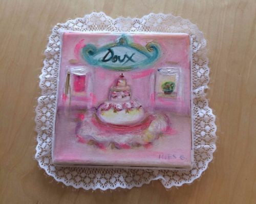 Shabby-Chic-Pink-Pastel-Lace-Modern-Vintage-Home-Canvas-Handmade-French-Doux
