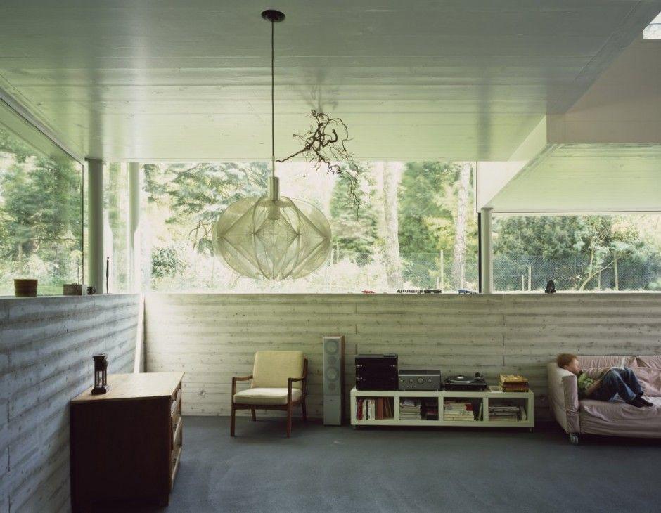 Haus W by Kraus Schönberg Architects below grade (outdoor