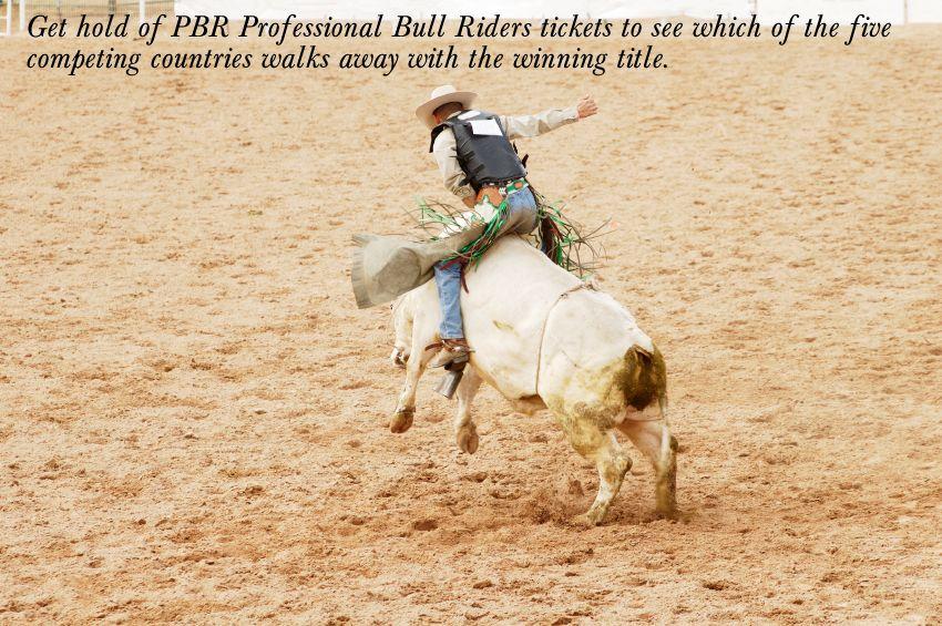 Professional Bull Riders is a wellknown international