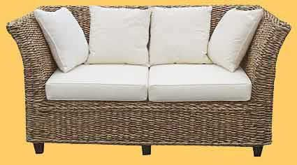 Woven Sofa From Banana Leaf Wicker Patio Furniture Pictures Images Http Www Patiofurnitureimages 2017 01 Html