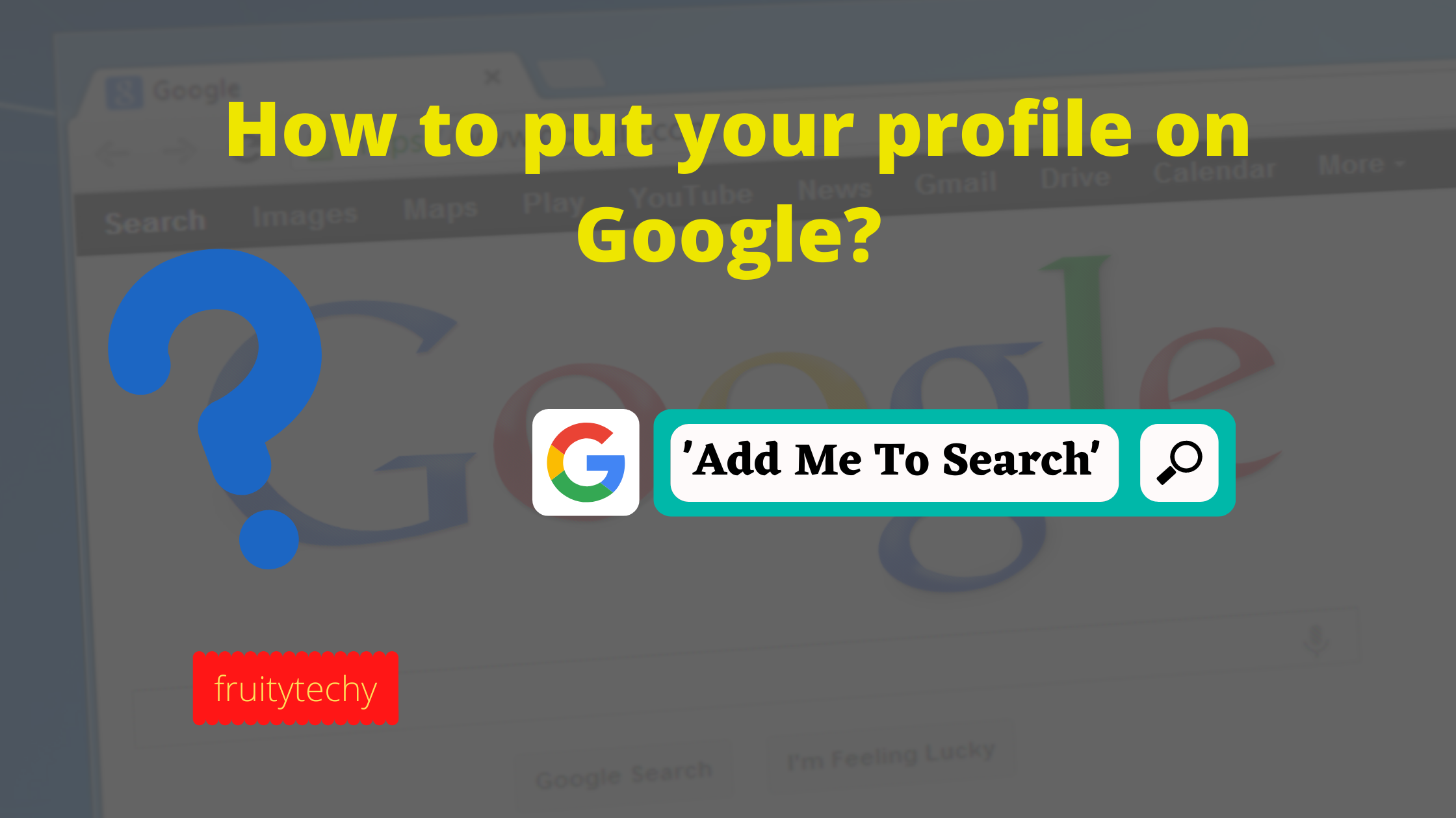 What Is Google Add Me To Search How To Put Your Profile On Google Ads Search Google