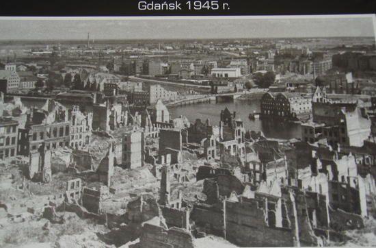 1945 after World War II Gdansk, Poland