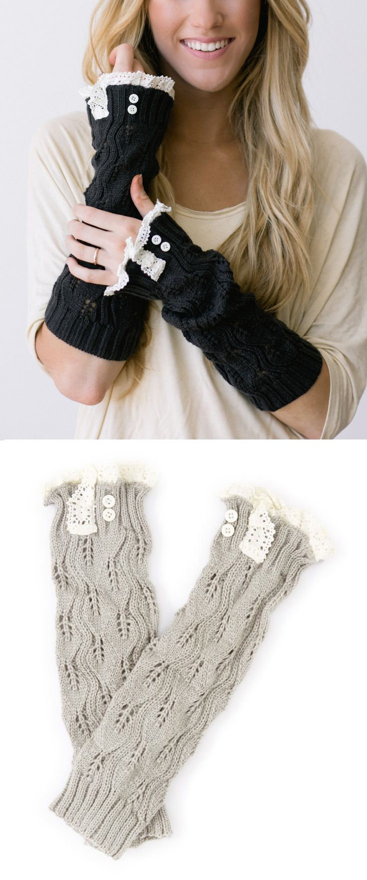 Arm Warmers   Products I Love   Pinterest   Ropa, Calcetines crochet ...