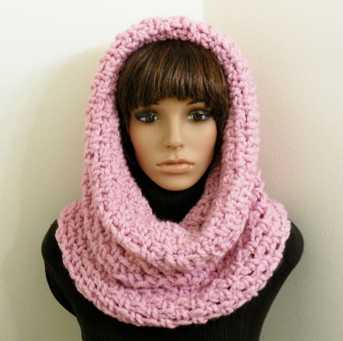 PDF Crochet Pattern for Chunky Tunnel Cowl/Hood | knit ...
