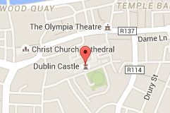 Map Of Dublin Castle Dublin Castle Ireland Travel Dublin