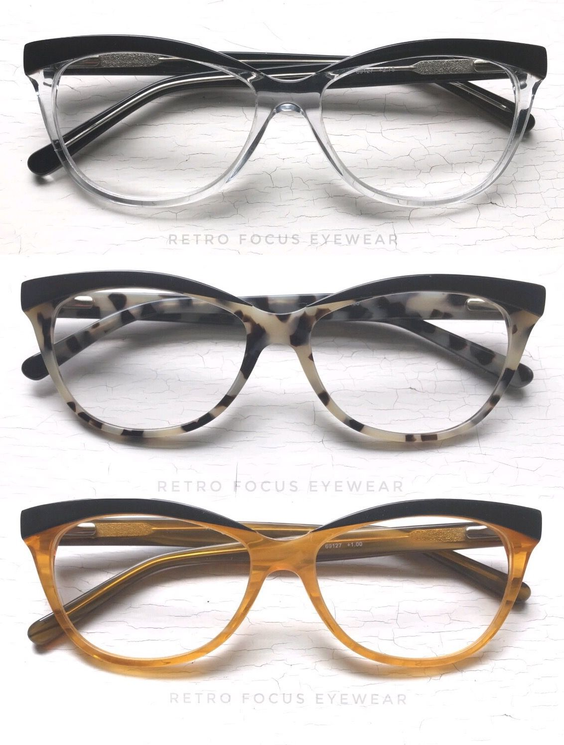22cd1f64a 'Betty Browline' square cat eye reading glasses or prescription frames. Our  newest cat to join the colony😻