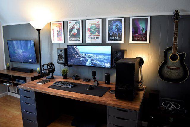 Battlestations Home Office Setup Bedroom Setup Home Office Design