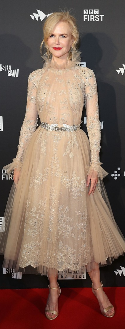 Nicole Kidman wearing Zuhair Murad