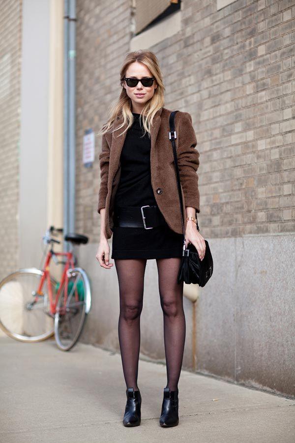 Street Style Fall 2012 - New York Fashion Week Street Style - Harper's BAZAAR