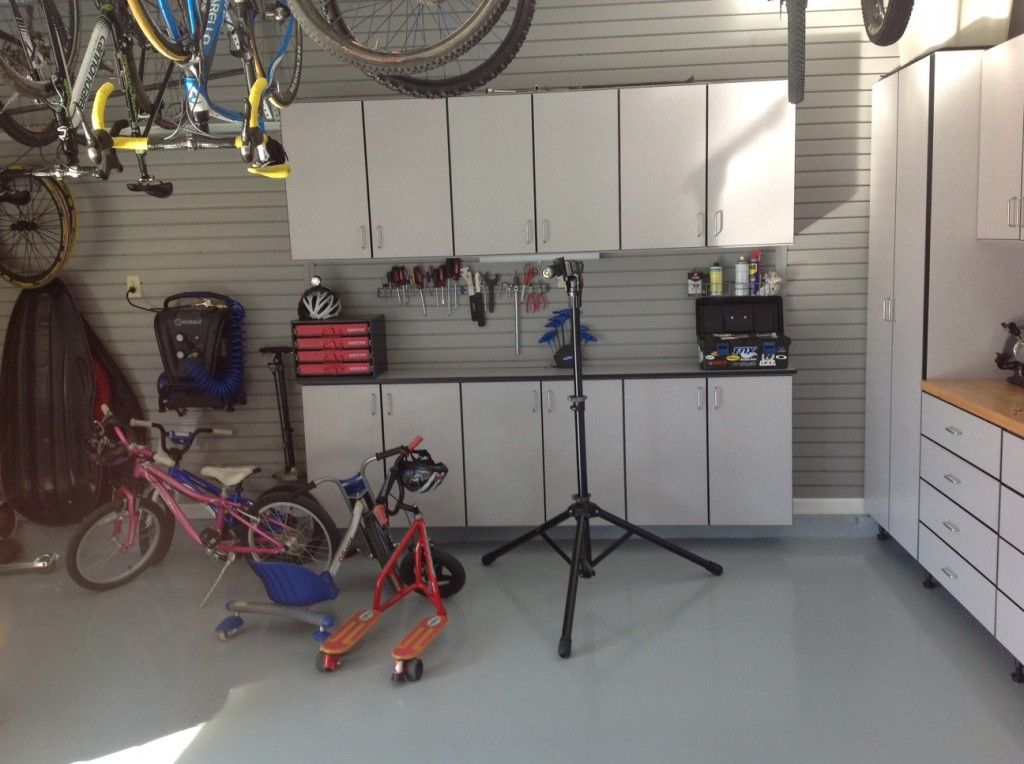Garage Designs Of St Louis: Local Cyclist Gets A Garage Makeover By Garage Designs Of