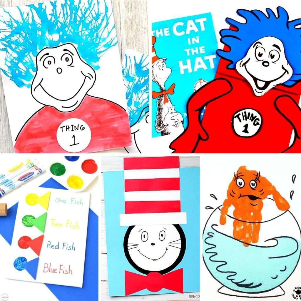 Dr Seuss Crafts For Preschoolers Dr Seuss Crafts For