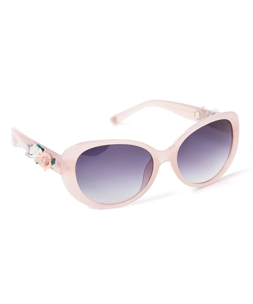 Look what I found on #zulily! Betsey Johnson Light Pink Floral Arm ...