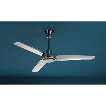Ventilateur De Plafond Dailan Inspire Chrome Leroy Merlin 73 Ventilateur Plafond Ventilateur Plafond