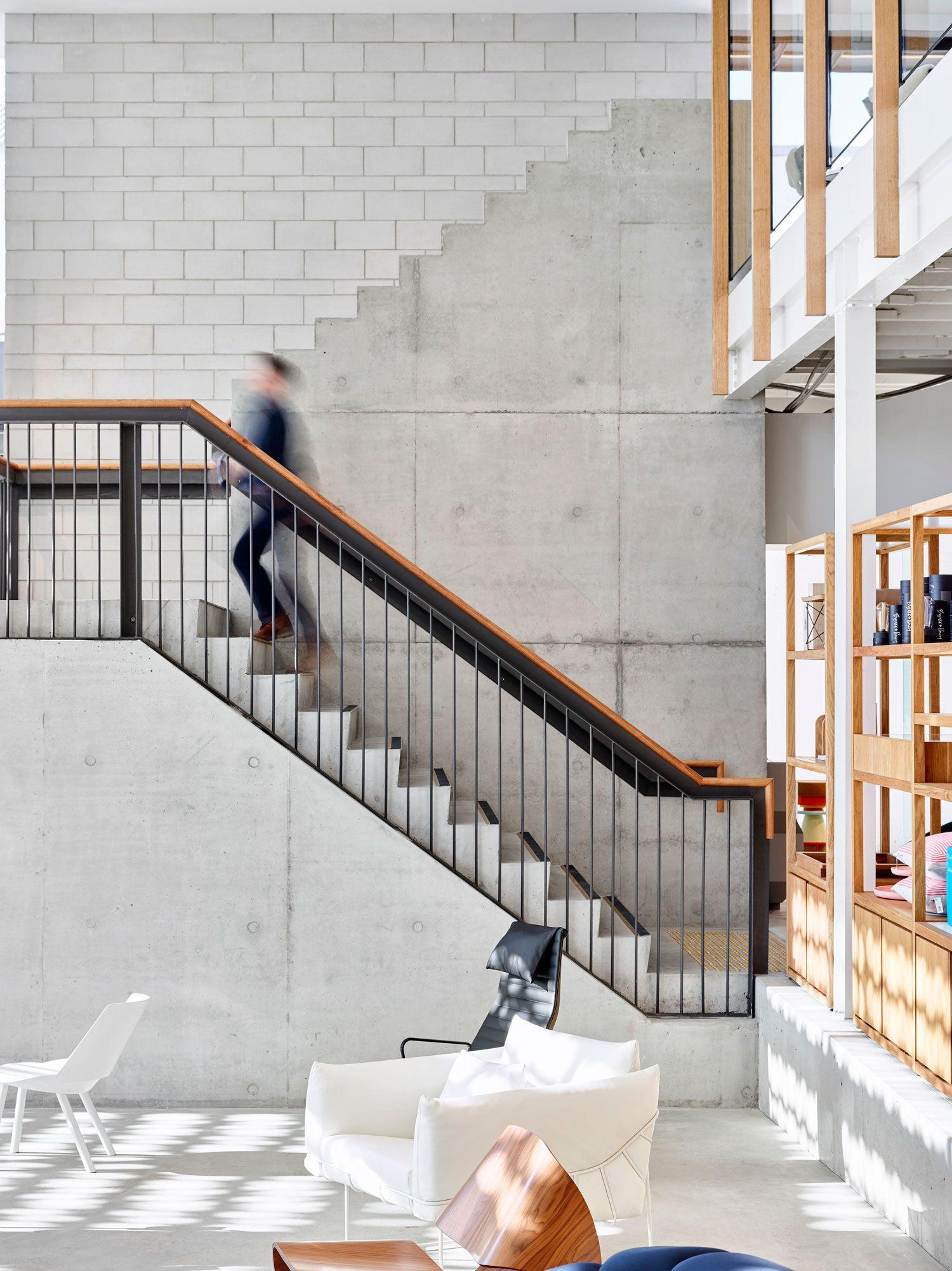 Best Living Edge Brisbane Showroom Interior Railings Interior Stair Railing Staircase Design 640 x 480