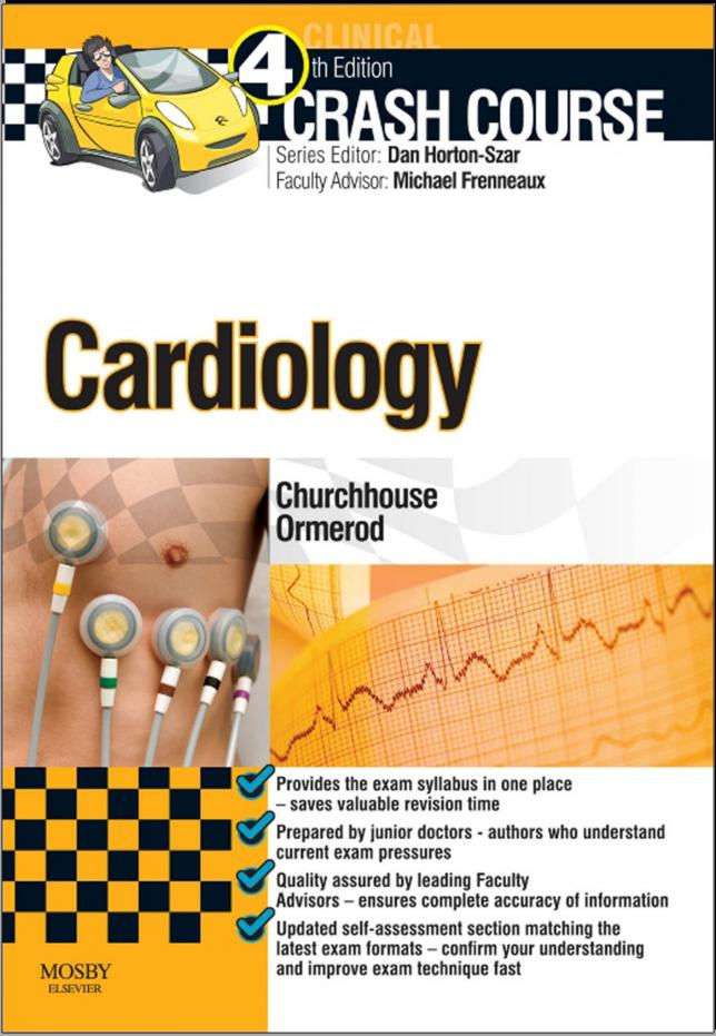 FREE MEDICAL BOOKS: Crash Course Cardiology 4e [PDF] | MEDICAL BOOKS