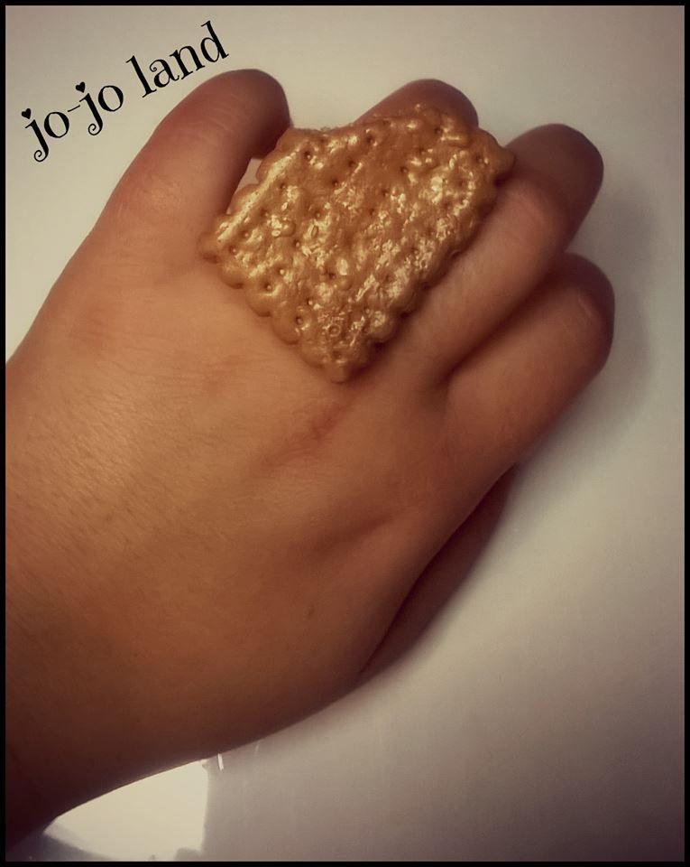 Δαχτυλίδι μπισκότο!