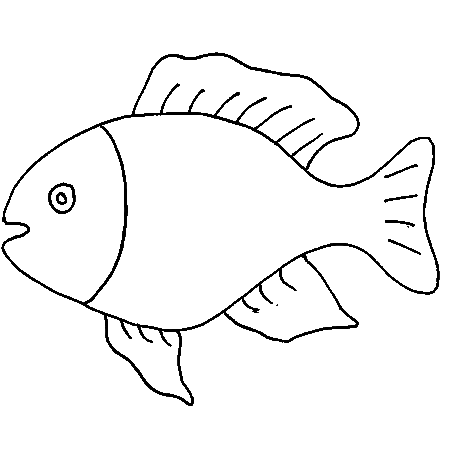 Dessin poisson d 39 avril a colorier kuvat fish template templates printable free et felt - Dessin de poisson d avril ...