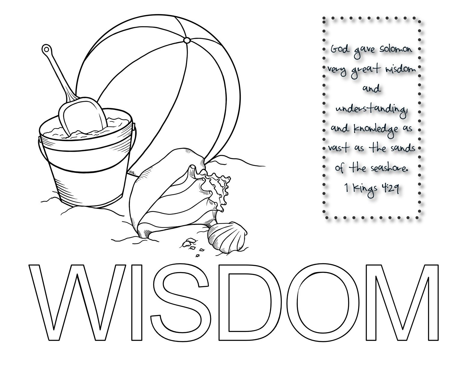 Glue Sand On Wisdom God Gave Solomon Very Great Wisdom And Understanding And Knowledge As Vast