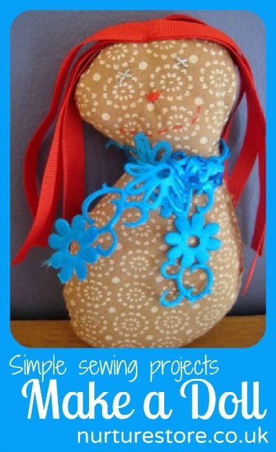Simple sewing projects: make a doll