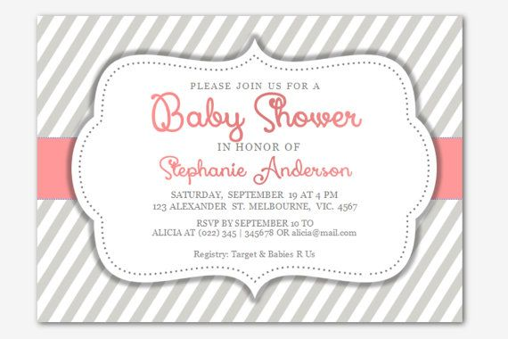 Cool Free Baby Shower Invitations Templates for Word FREE Baby