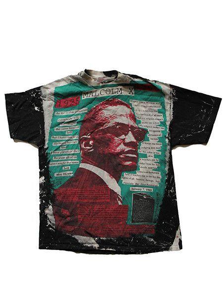 1990 S Mosquito Head Malcolm X Vintage T Shirt Rare Vintage Tshirts Sell Shirts Shirts
