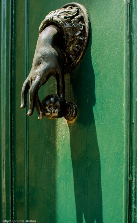 Door Knocker, Nontron, France by The BRMan