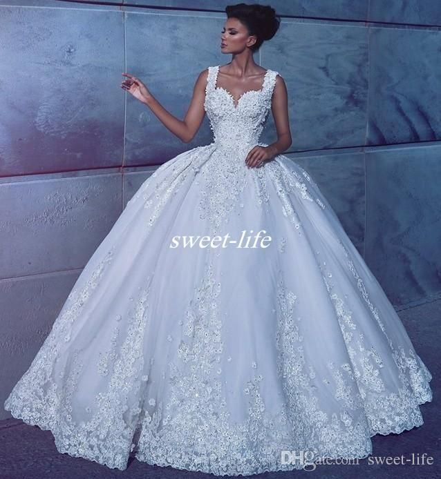 High Quality Vintage Wedding Dresses Lace Bridal Gowns 2017 ...