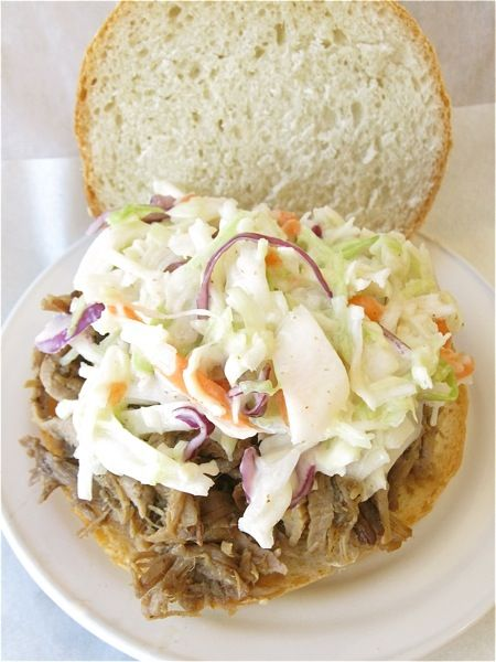 Coleslaw recipe and pulled pork recipe
