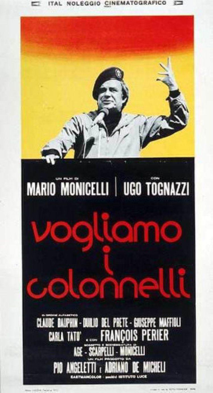Vogliamo I Colonneli 1973 Mario Monicelli Colonnella Film Cinematografia