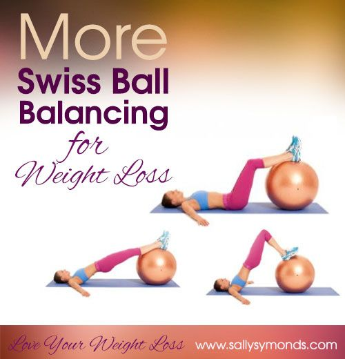 Balance Ball For Weight Loss: More Swiss Ball Balancing For Weight Loss...