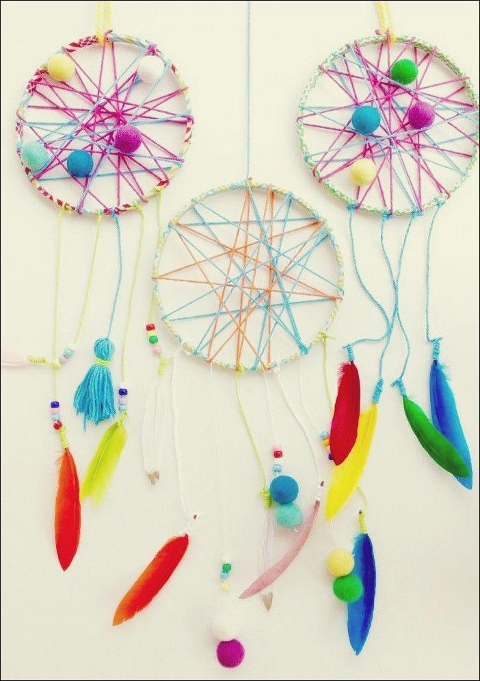 Schöne DIY Dream Catcher, um Ihre Träume Sweet in diesem Sommer zu halten #dreamcatcher