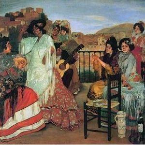 El gitanismo en la pintura española