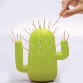 Cactus Toothpick Holder  #tothpick #coffee #tea #crazy #kitchen #desado.com