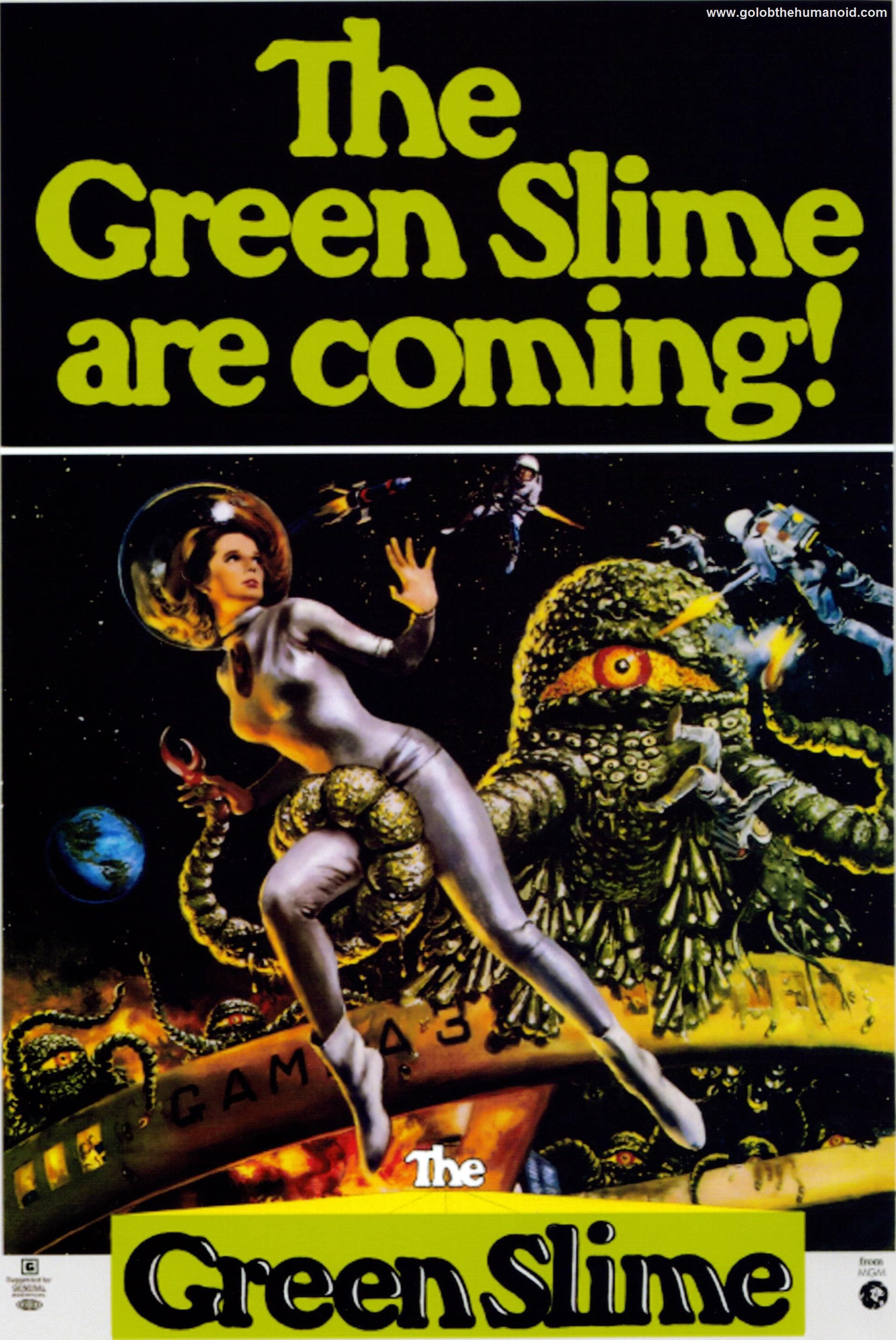 The Green Slime Google Search Science fiction movie