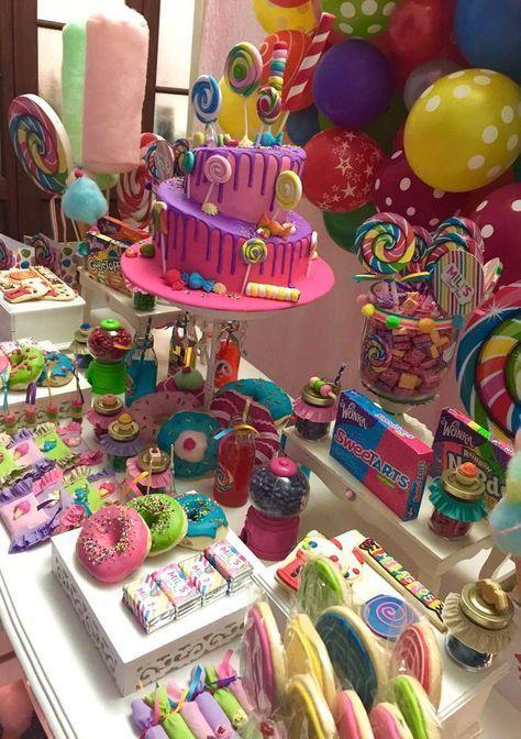 Candys Geburtstagsparty Ideen #candys #geburtstagsparty #ideen #partyideen