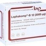 LOPHAKOMP B12 Depot 3000µg (mcg) Injektionslösung:   Packungsinhalt: 10X2 ml Injektionslösung PZN: 04777300 Hersteller: Köhler Pharma…
