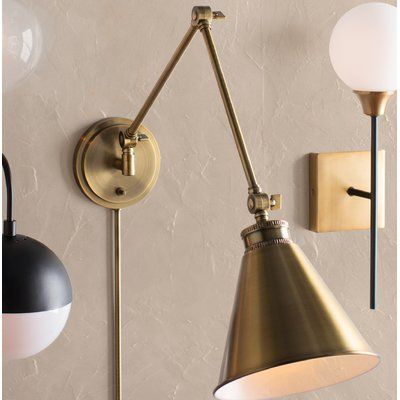 reputable site 71f78 11019 Waucoba 1-Light Swing Arm Lamp in 2019 | At Home | Swing arm ...