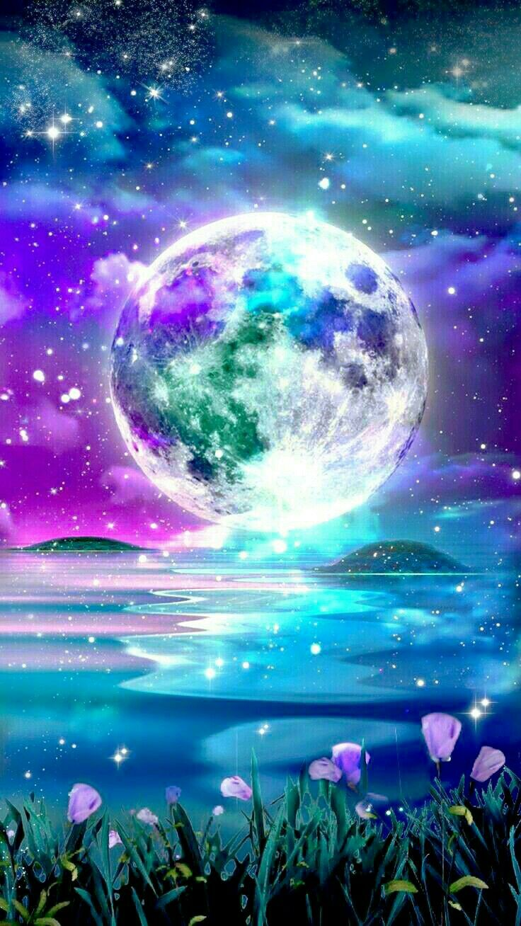 Moonchild Moon Art Galaxy Wallpaper Aesthetic Iphone Wallpaper