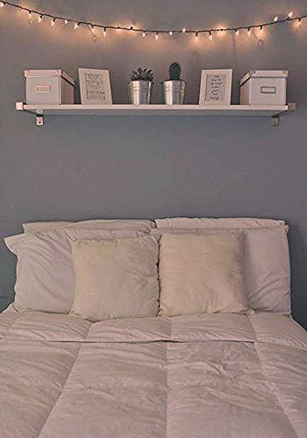 34 Trendy wall shelf above bed shelving #wall