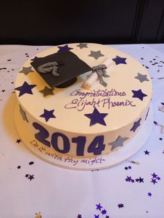 Graduation cake for high school and middle school Great day evan