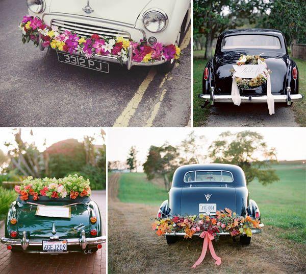 abbastanza Decorazioni per l'auto degli sposi | Auto, Decorazioni e  XQ17